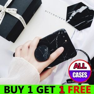 Accessories - *NEW iPhone X/XS/7/8/Plus Marble Case W/Holder